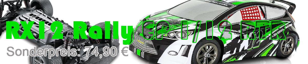 Sie suchen ein RC-Car mit Elektroantrieb, sind sich aber noch nicht sicher ob es ins Gelände oder auf die Straße gehen soll?  Dann ist der der RX12 Rally Cross von Funtek genau das Richtige für Sie.