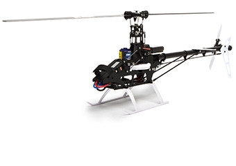 Flybarless Design beim BLADE 330X BNF Wenige Teile durch Flybarlesstechnik machen diesen Hubschrauber einfach im Aufbau.