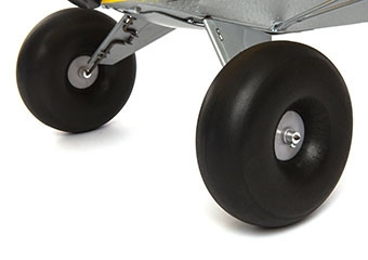 HOBBYZONE Carbon Cub S+ 1300mm RTF Übergroße Tundra-Reifen