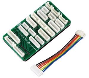 Da es verschiedene Balancer-Anschlüsse gibt, werden dabei Balancer Adapter verwendet.