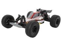 RC Car - Buggy: Längliche Bauform, tiefer Schwerpunkt, Hinterrad- und Allradantrieb, sehr schnell auf leichtem Gelände.