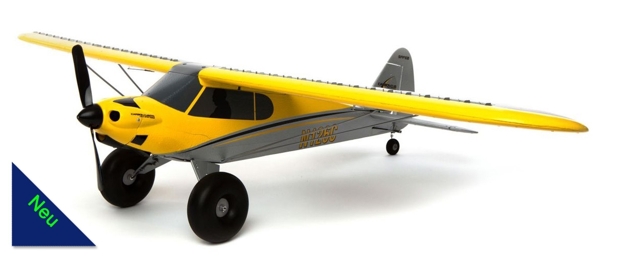 Carbon Cub S+ 1300mm BNF Basic (HOBBYZONE) HBZ3250